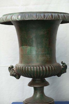 Tavoli Da Giardino Antichi.Vasi Da Giardino Antichi In Ghisa Set Di 2 In Vendita Su Pamono