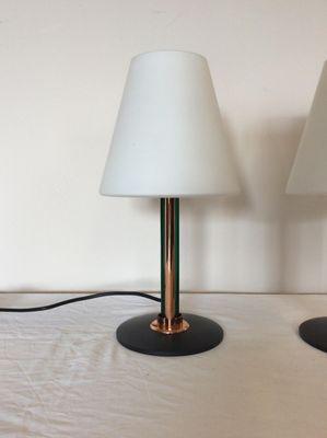 Lampade da tavolo moderne di De Majo, Italia, anni \'80, set di 2 in ...