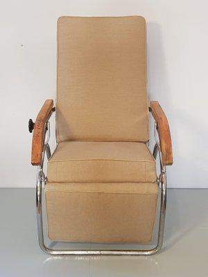 Vintage Industrial German Lounge Chair