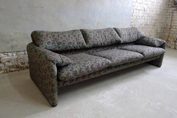 Italian Cotton Maralunga Sofas By Vico