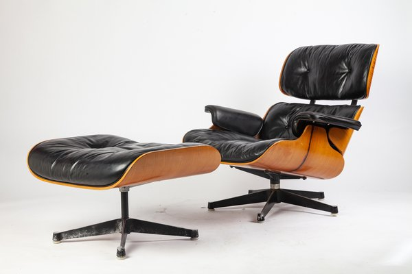 Fantastic Lounge Chair Ottoman By Charles Ray Eames For Vitra 1967 Cjindustries Chair Design For Home Cjindustriesco