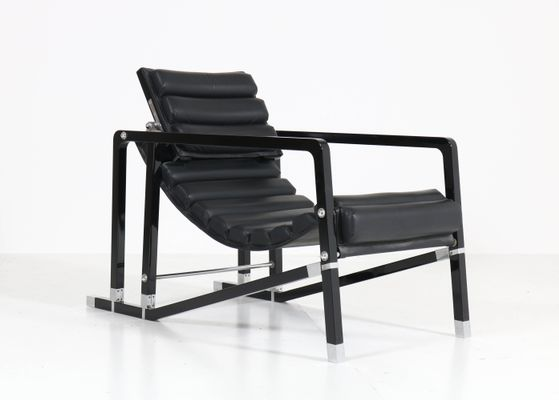 Beau Transat Lounge Chair By Eileen Gray For Ecart International, 1980s