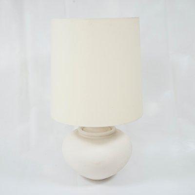 Lámparas de mesa francesas modernas de yeso de Manufacture
