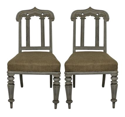 English Gothic Chairs 1830s Set Of 2 For Sale At Pamono