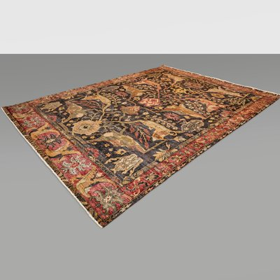 Large Indian Hand Knotted Wool Rug