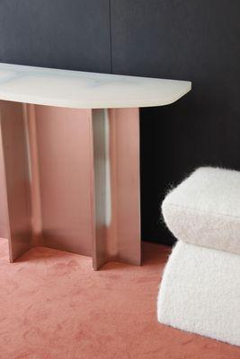 Phenomenal Brushed Steel Resin Fossil Console Table By Daniel Nikolovski Danu Chirinciuc For Kabinet 2019 Spiritservingveterans Wood Chair Design Ideas Spiritservingveteransorg