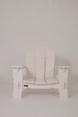 Sedie In Legno Laccate Bianco.Sedie In Legno Laccato Bianco Di Pierre Dariel Anni 40 Set Di 2