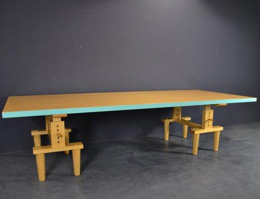 Terrific Reversible Bramante Dining Table By Castiglioni Brothers For Zanotta 1980S Machost Co Dining Chair Design Ideas Machostcouk