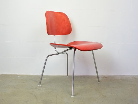 Surprising Chrome Plated And Plywood Dcm Dining Chair By Charles Ray Eames For Herman Miller 1980S Pabps2019 Chair Design Images Pabps2019Com