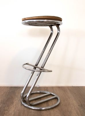 Miraculous Art Deco Italian Tubular Steel Stools 1930S Set Of 2 Caraccident5 Cool Chair Designs And Ideas Caraccident5Info