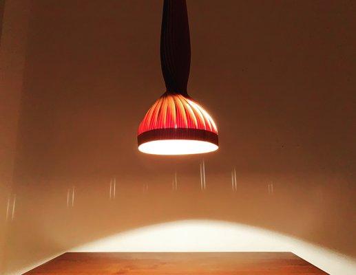 Deckenlampe Aus Holz Von Hans Agne Jakobsson 1960er Bei Pamono Kaufen