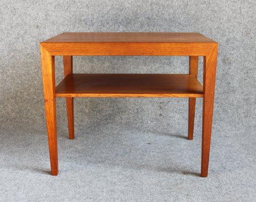 Side Table Teak.Teak Side Table By Severin Hansen For Haslev Mobelfabrik 1960s