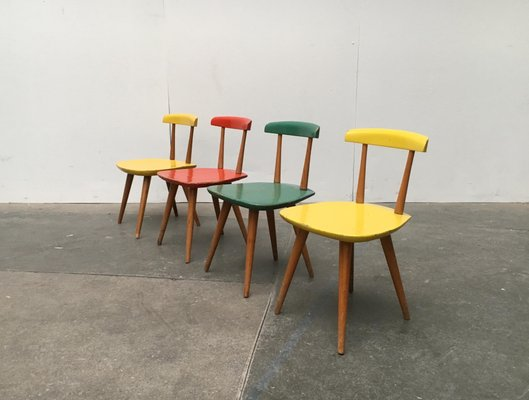 Childrens Table Chairs Set By Karla Drabsch For Kleid Raum 1950s