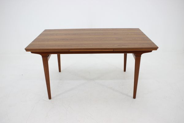 Mid Century Danish Teak Extendable Dining Table 1960s