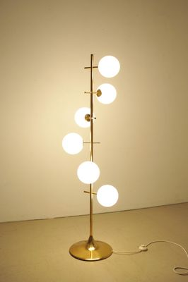 Frosted Gl Floor Lamp By E R Nele