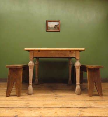 Antique Rustic French Oak And Pine