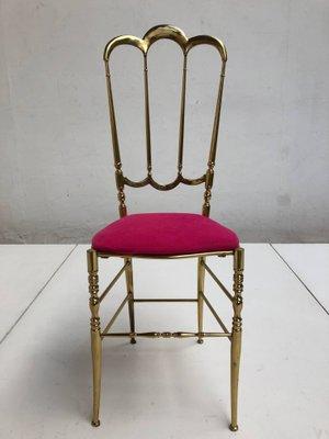 Stuhl Italienischer Italienischer Chiavari aus Messing1960er Italienischer Chiavari Stuhl aus Messing1960er Stuhl Chiavari nOXkN8Pw0