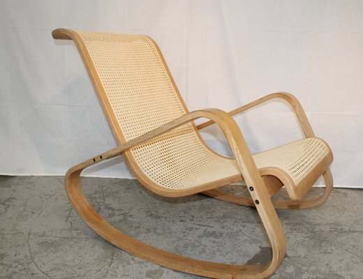 Surprising Vintage Italian Rocking Chair 1970S Gmtry Best Dining Table And Chair Ideas Images Gmtryco