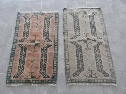 Small Area Rugs 1960s Set Of 2