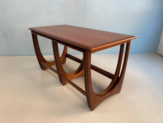 Incredible Teak Coffee Table Side Tables Set From G Plan 1960S Set Of 3 Caraccident5 Cool Chair Designs And Ideas Caraccident5Info