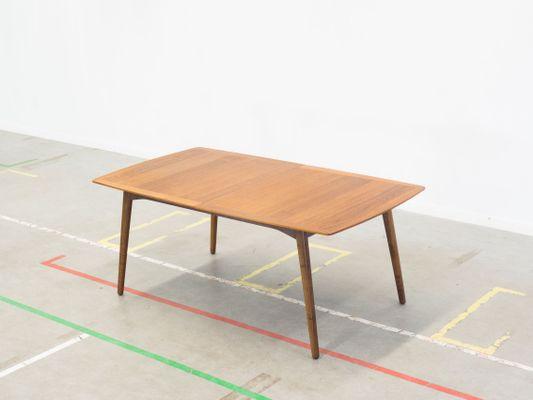 Danish Walnut Extendable Dining Table