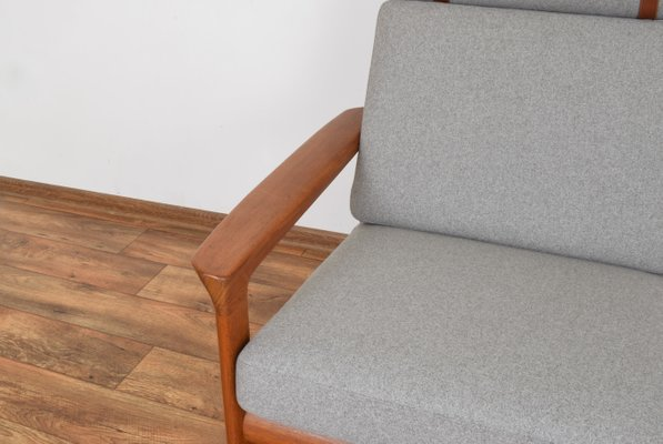 Cool Danish Borneo Teak Sofa By Sven Ellekaer For Komfort 1960S Gmtry Best Dining Table And Chair Ideas Images Gmtryco