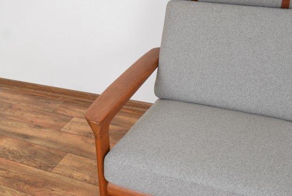 Brilliant Danish Borneo Teak Sofa By Sven Ellekaer For Komfort 1960S Bralicious Painted Fabric Chair Ideas Braliciousco