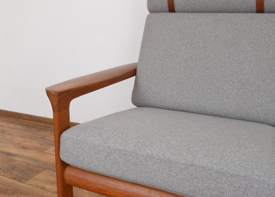 Swell Danish Borneo Teak Sofa By Sven Ellekaer For Komfort 1960S Bralicious Painted Fabric Chair Ideas Braliciousco