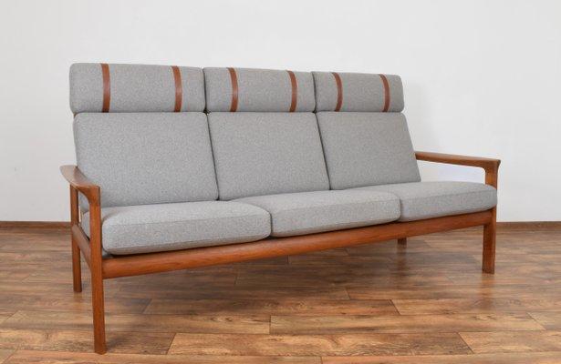 Prime Danish Borneo Teak Sofa By Sven Ellekaer For Komfort 1960S Unemploymentrelief Wooden Chair Designs For Living Room Unemploymentrelieforg