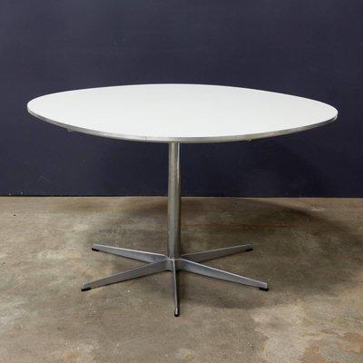 Round Pedestal Dining Table By Arne Jacobsen U0026 Piet Hein Eek For Fritz  Hansen, 1968