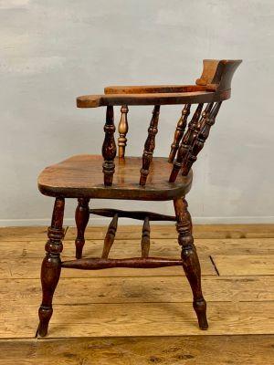 Chaise En De Bureau Antique Orme 2WE9DIH