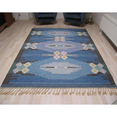 schwedische teppiche rund