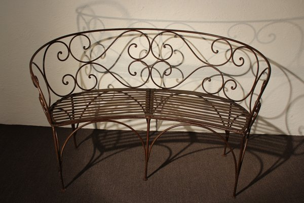 Awesome Antique Iron Garden Bench Caraccident5 Cool Chair Designs And Ideas Caraccident5Info