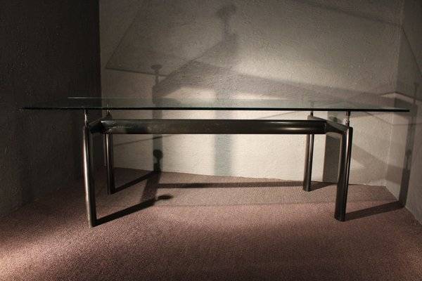 Vintage LC6 Dining Table by Le Corbusier for Cassina