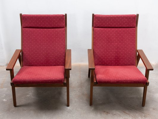 Astounding Teak Lotus Lounge Chairs By Rob Parry For De Ster Gelderland 1958 Set Of 2 Pdpeps Interior Chair Design Pdpepsorg