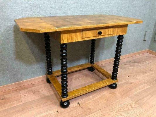 Tavolo da cucina Mid-Century allungabile in legno, anni \'60