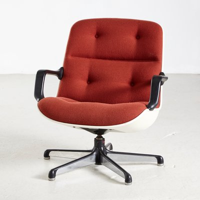 Marvelous Italian Swivel Chair By Charles Pollock For Comforto 1960S Dailytribune Chair Design For Home Dailytribuneorg