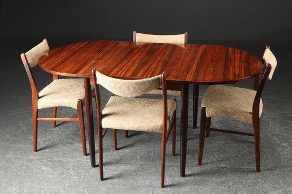 Danish Rosewood Dining Set 1950s