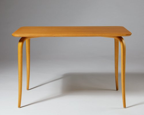 Pleasant Model Annika Birch And Elm Dining Table By Bruno Mathsson For Firma Karl Mathsson 1950S Caraccident5 Cool Chair Designs And Ideas Caraccident5Info