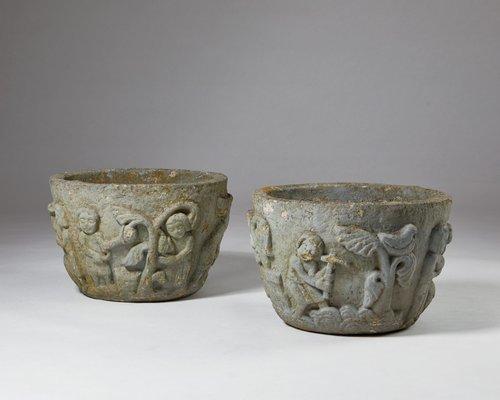 Flower Pot 1950s Set of 2 5 & Flower Pot 1950s Set of 2 for sale at Pamono