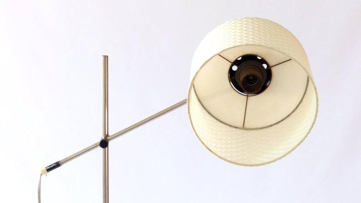 German Cast Iron, Chrome Plated, and Steel Floor Lamp from Seifert & Tilitz  KG, 1960s
