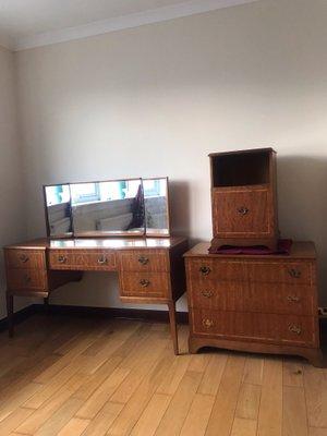 Mobilier de Chambre Vintage de Beithcraft, 1970s
