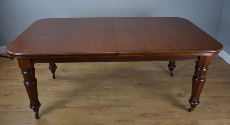Victorian Style Mahogany Dining Table Chairs Set 1970s For Sale At Pamono