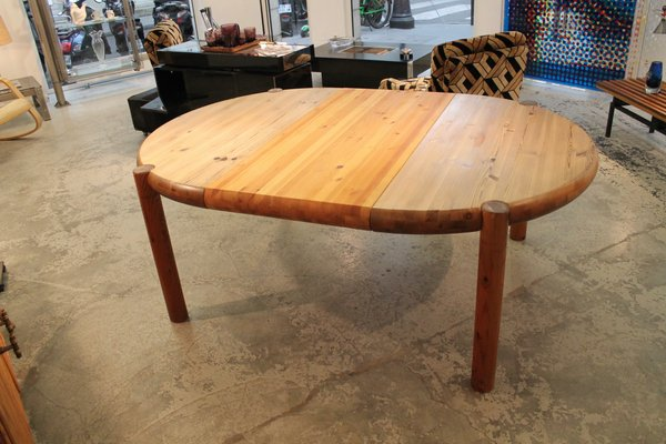 Vintage Pine Dining Room Table by Rainer Daumiller for Hirtchals Sawmill