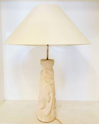 Bureau Century Laiton Lampe De Mid En Et PierreFrance1960s 8w0OPNnkX