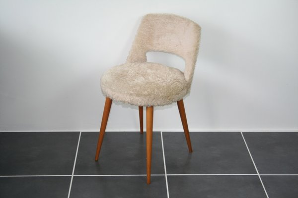 Astounding Mid Century French White Barrel Chair With Compass Feet 1960S Ibusinesslaw Wood Chair Design Ideas Ibusinesslaworg