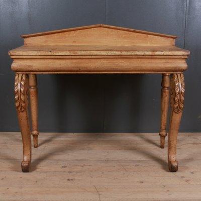 Antique Scottish Wooden Console Table