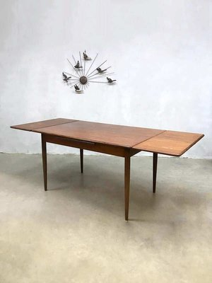Tavolo da pranzo allungabile in teak di Farstrup Møbler, Danimarca, anni \'60