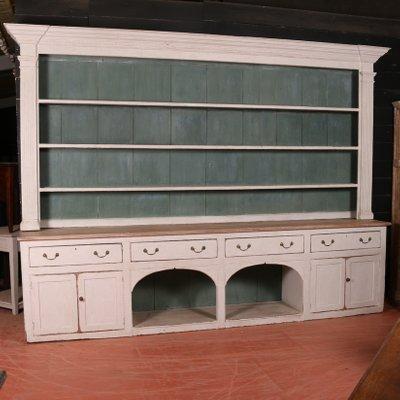 competitive price 202ea 8f17d Large Antique Wooden Shelving Unit