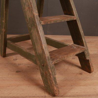 Brilliant Antique Wooden Library Steps Set Of 2 Ibusinesslaw Wood Chair Design Ideas Ibusinesslaworg